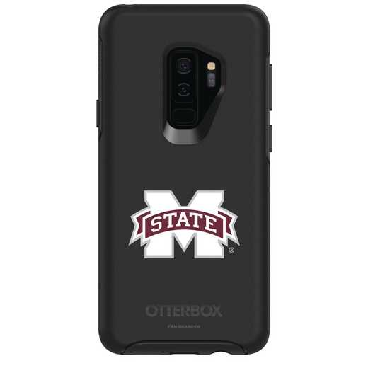 GAL-S9P-BK-SYM-MSST-D101: FB Mississippi St OB SYMMETRY Case for Galaxy S9+